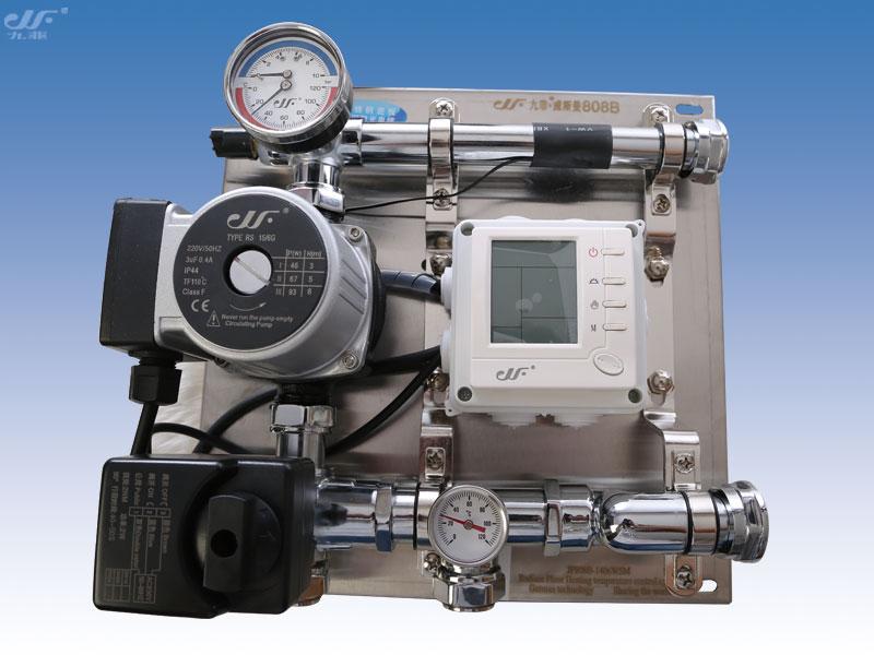 jf-808b系列地暖混水系统 采用德国比例积分电动阀调节,流水量大图片